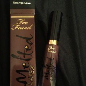 Strange love too faced lipstick